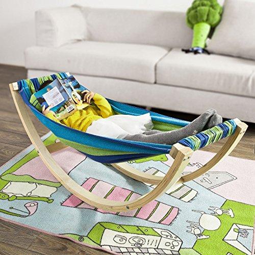 sobuy h ngematte kinderh ngematte schaukel f r kinder. Black Bedroom Furniture Sets. Home Design Ideas